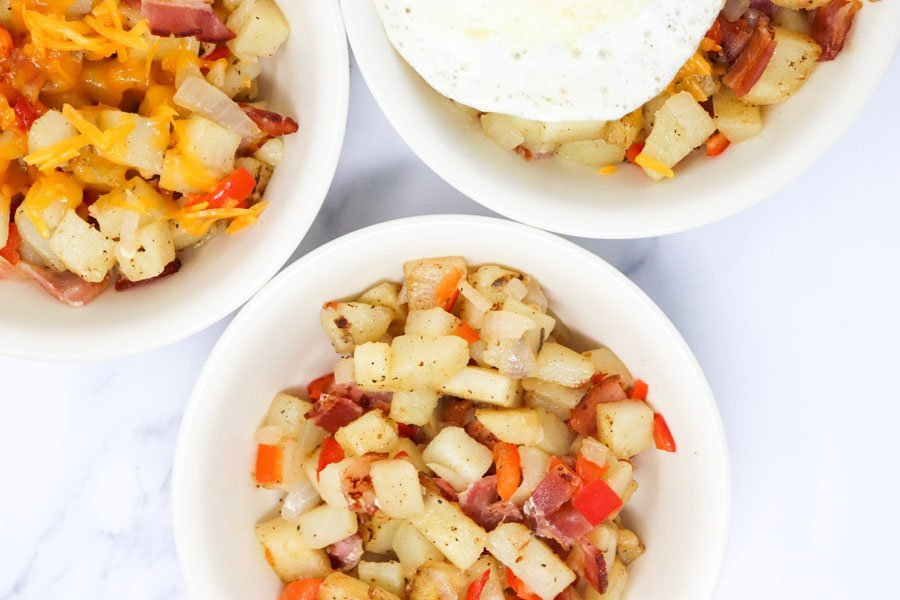 Bacon Breakfast Hash Lower-Calorie
