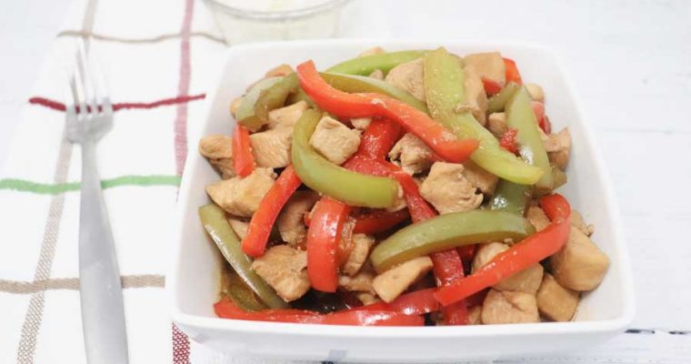 One-Pot Pepper Chicken – Low-Calorie, Low-Carb