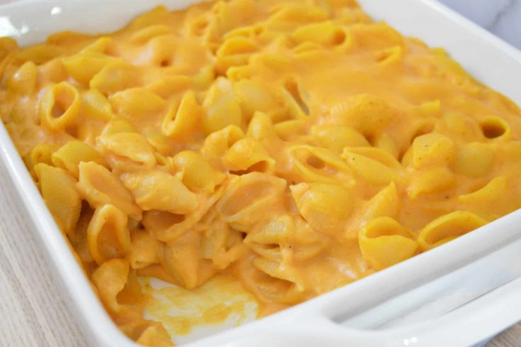 Pumpkin Mac and Cheese | Lightened Up Recipe!