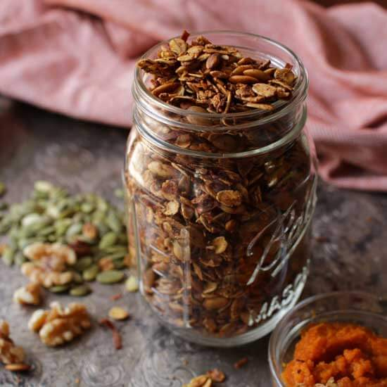 Small Batch Pumpkin Spice Granola