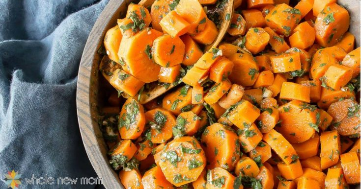 Moroccan Carrots - Kid-Friendly, Vegan, Gluten-Free & Whole30