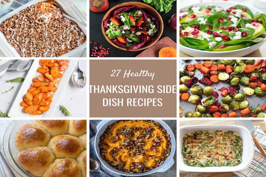 27 Healthy Thanksgiving Side Dish Recipes