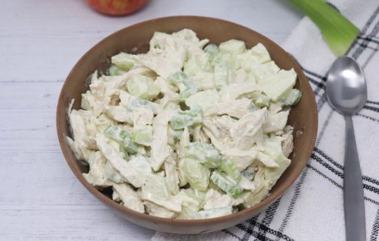 Apple Chicken Salad – Low-Calorie, Gluten-Free, Low-Carb, Keto