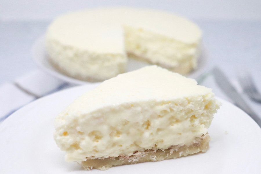 Instant Pot Low-Carb Cheesecake – Gluten-Free, Keto