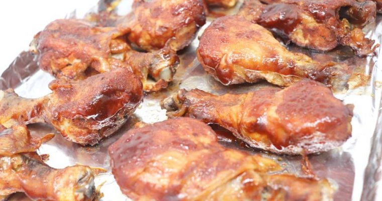Slow Cooker BBQ Chicken Drumsticks – Low-Calorie
