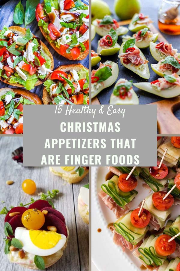 Christmas Appetizers Pinterest