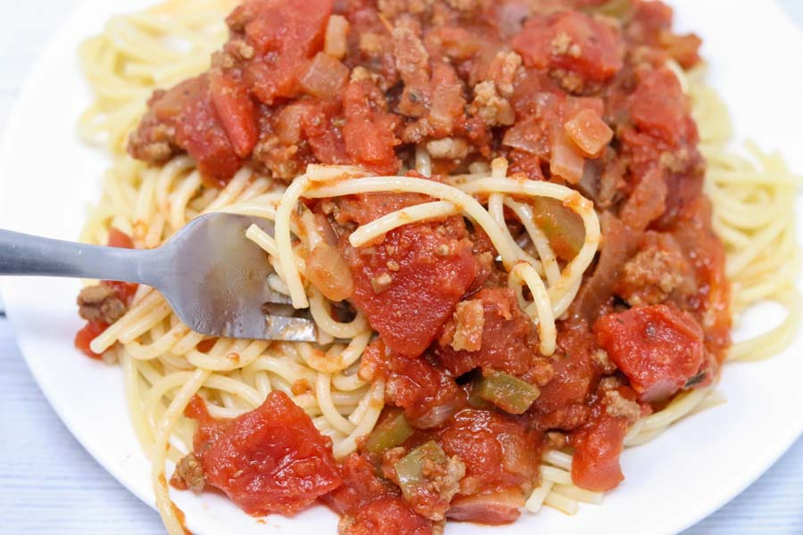 Slow Cooker hearty spaghetti sauce