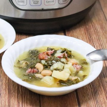 instant pot potato and kale soup