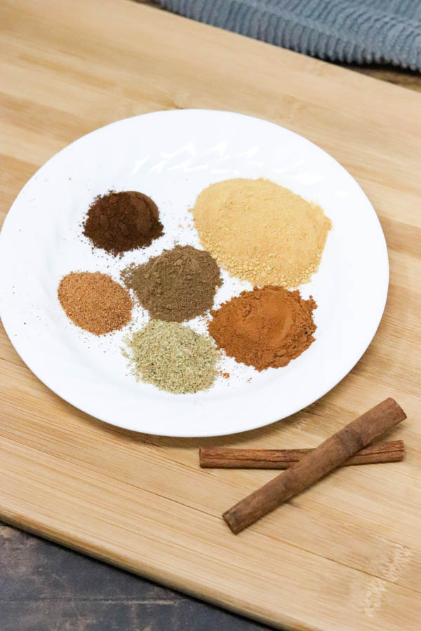 homemade chai spice mix