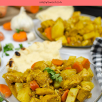 Instant Pot Curry Chicken pin