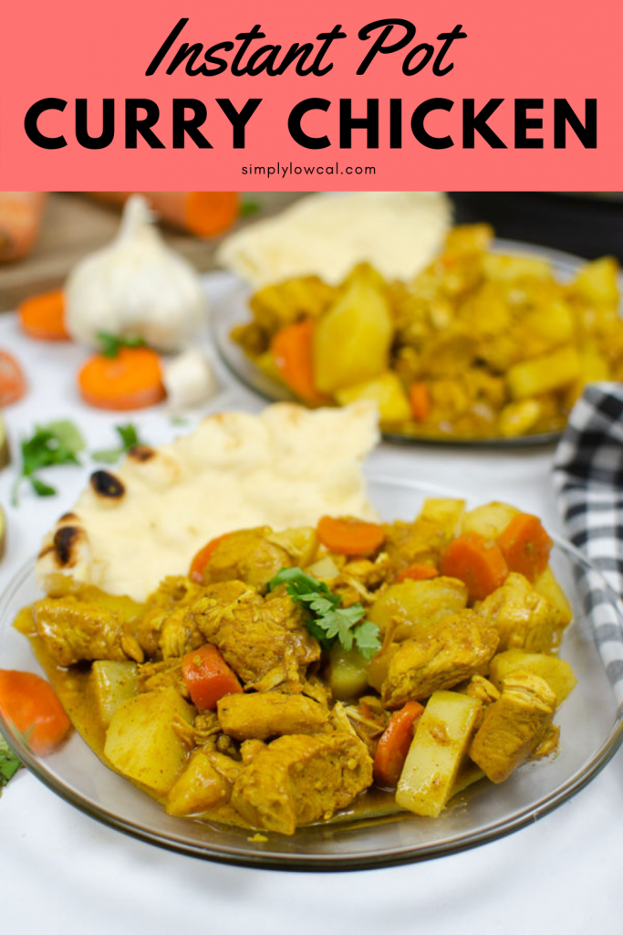 instant pot chicken curry pin