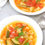 Instant Pot Vegetable Soup With Pasta pin