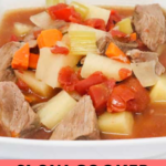 Slow Cooker Beef Stew Recipe pin