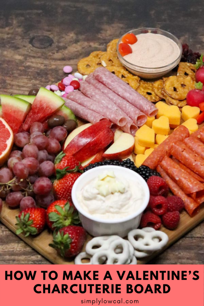 how to make a valentines charcuterie board pin